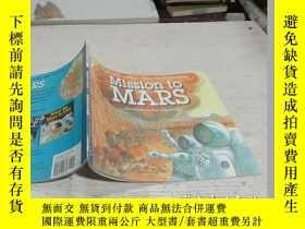 二手書博民逛書店Mission罕見to Mars (Let s Read and Find Out) 自然科學啟蒙2:火星探秘