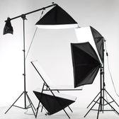 攝影棚套裝柔光箱補光拍照燈道具器材小型攝影燈拍攝台靜物台YYP    琉璃美衣