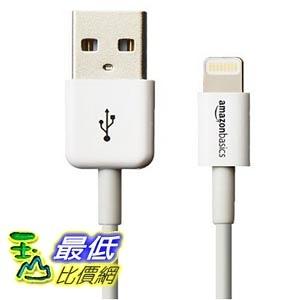 [美國直購] Apple 認證線 AmazonBasics Apple Certified Lightning to USB Cable - 0.9 Meters -(白黑兩色可選)