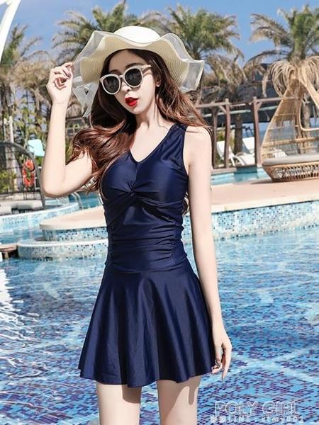 泳衣女年新款溫泉泡澡服遮肚顯瘦韓國ins保守仙女范小胸聚攏 夏季新品