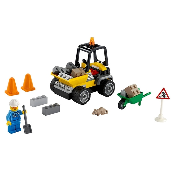LEGO樂高 City 城市系列 道路工程車_LG60284