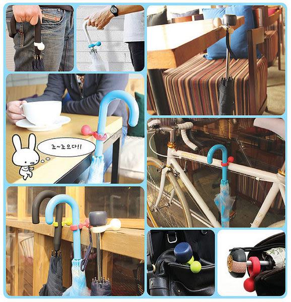 【BlueCat】日本Umbrella Hanger彩虹圓形雨傘固定扣環掛鉤 傘架