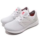 New Balance 慢跑鞋 WCRUZRW2 B 白 灰 世界杯足球賽 運動鞋 緩震舒適 女鞋【ACS】 WCRUZRW2B