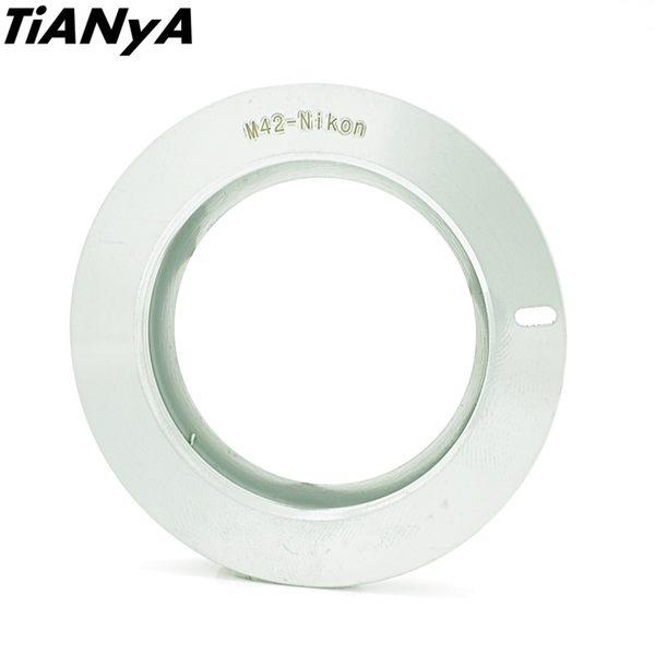 又敗家@Tianya有遮蔽環M42轉Nikon鏡頭轉接環(M42鏡頭轉成尼康F接環)M42-Nikon轉接環M42轉F轉接環M42-F接環