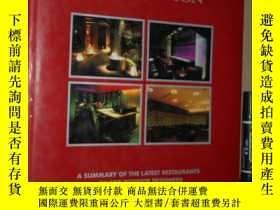 二手書博民逛書店英日原版罕見Tokyo Restaurant Design Co