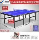 家用可摺疊式標準室內乒乓球桌可行動式比賽專用兵乓球台案子 NMS生活樂事館
