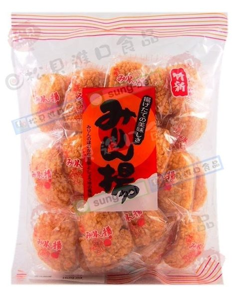 《松貝》竹新味淋醬油米果250g【4901961050508】aa5
