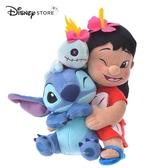日本 DISNEY STORE 迪士尼商店限定 史迪奇 莉蘿 醜丫頭 Hawaiian Stitch 玩偶娃娃 26cm