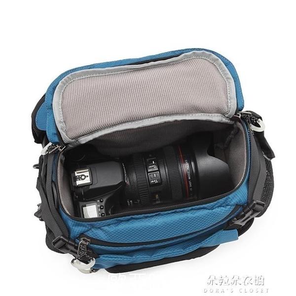 相機包 CORESS多功能戶外旅行尼康佳能相機包腰包側背攝影包後背騎行包郵 【快速】