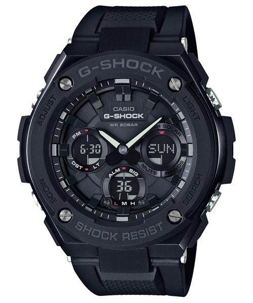 CASIO 卡西歐 手錶專賣店 G-SHOCK GST-S100G-1B DR 男錶 樹脂錶帶 防震 世界時間 倒數計時