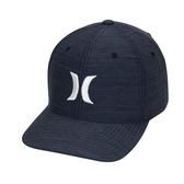 Hurley M DF CUTBACK HAT OBSIDIAN/WHITE 棒球帽-DRIFIT-(藍)