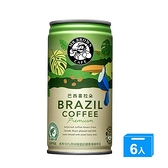 伯朗巴西喜拉朵咖啡240mlx6【愛買】