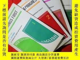 二手書博民逛書店NEW罕見CONCEPT ENGLISH 新概念英語 學生用書(全四冊)Y13497 L.G.ALEXANDE