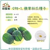 【綠藝家】G98-1.蘋果絲瓜種子1顆