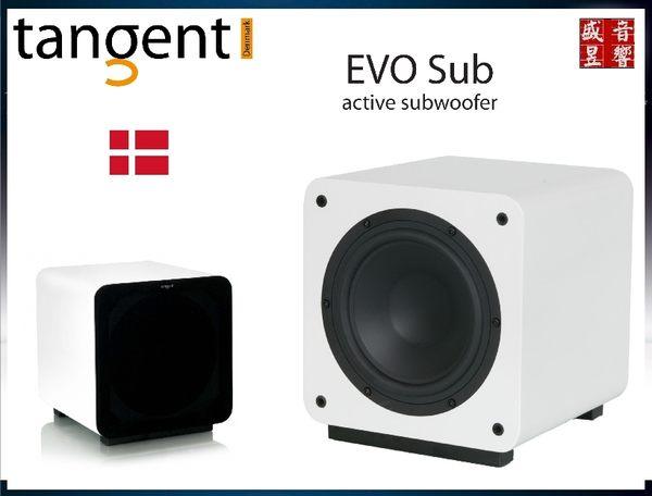 盛昱音響-罕見入門價格 / 平價 HI END 好聲丹麥 Tangent EVO E8 超低音喇叭-現貨