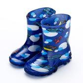 夏季兒童雨鞋男童女童寶寶防滑     花間公主