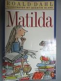 【書寶二手書T5/原文小說_LCR】Matilda_Roald dahl