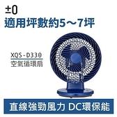 ±0 正負零 XQS-D330 桌上型 循環扇 藍