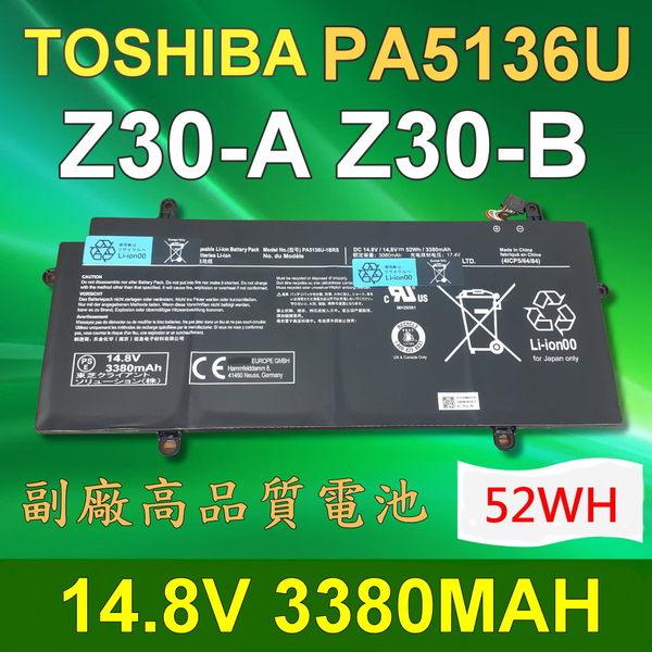 TOSHIBA PA5136U 4芯 日系電芯 電池 PT241C-002 PA5136U-1BRS Z30 Z30-A Z30-B PT241U-02H014 PT241U-05S005 PT241..