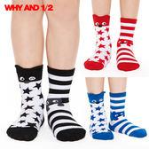 襪子 中筒襪 不對稱設計