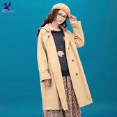 【早秋新品】American Bluedeer - 日系長版連帽風衣(魅力價) 秋冬新款