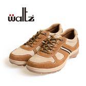 Waltz-磨砂皮復古休閒男鞋622106-06(棕)