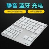 無線數字小鍵盤帶蘋果筆記本電腦通用USB外接迷你超薄便攜有線 城市科技