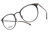 HUGO BOSS 光學眼鏡 HB1070F 4IN (棕) 男士精品簡約款 # 金橘眼鏡