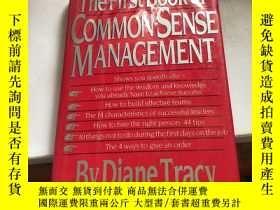 二手書博民逛書店THE罕見FIRST BOOK OF COMMON-SENSE