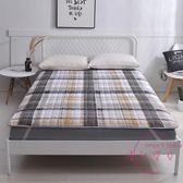 床墊保護墊薄款墊被防滑可折疊墊背床褥子雙人1.8m/1.5米床護墊