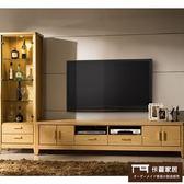 【這家子家居】北歐 天然原木色 7尺 電視櫃 + 展示櫃 沙發 桌子 客廳【C0350】