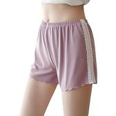 短褲內搭褲打底褲XL-4XL薄款側邊蕾絲安全褲可外穿寬鬆三分褲4F054-8121.胖胖唯依