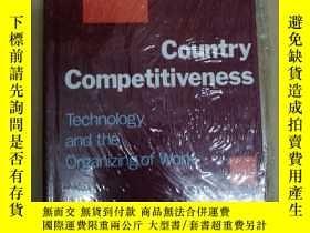 二手書博民逛書店Country罕見Competitiveness: Techno
