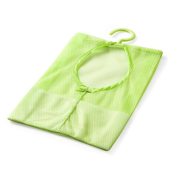可掛式曬衣夾收納網袋 360°旋轉 內衣內褲襪子晾曬袋 廚房浴室掛袋【BE062】《約翰家庭百貨