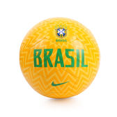 NIKE 足球(5號)(世足賽 簡約十字 巴西 BRAZIL CBF 五星最多 國旗 免運 ≡排汗專家≡
