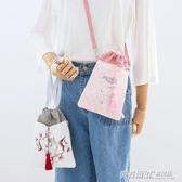 夏天小包包女小仙女中國風時尚百搭單肩斜挎包零錢手機包  英賽爾3c專賣店