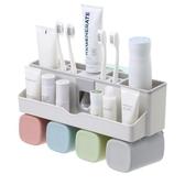 吸壁式牙刷置物架衛生間牙刷架