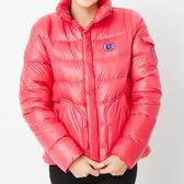 TOP GIRL 玩色極暖羽絨修身連帽外套 珊瑚粉