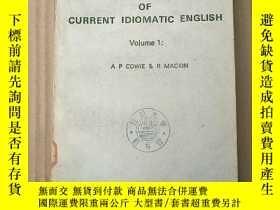 二手書博民逛書店oxford罕見dictionary of current idiomatic english volume 1(
