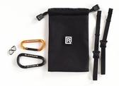 BlackRapid Tether Kit Breathe 快槍系列 安全繫帶套組 安全繩【網袋內含 2個安全鈎 和 2條繫帶】
