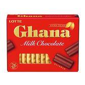 LOTTE Ghana巧克力-紅119g【愛買】