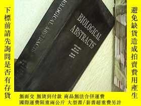 二手書博民逛書店BIOLOGICAL罕見ABSTRACTS 生物學文摘 2002 12 vol.109Y203004