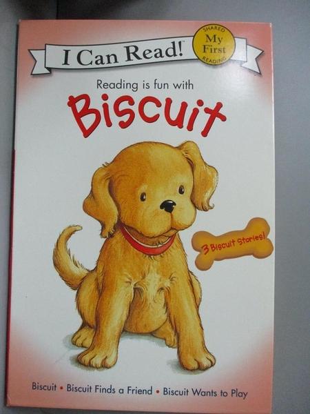 【書寶二手書T4/原文小說_YKO】Reading Is Fun With Biscuit: Biscuit, Bisc