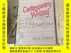 二手書博民逛書店Contemporary罕見Writing: Process a