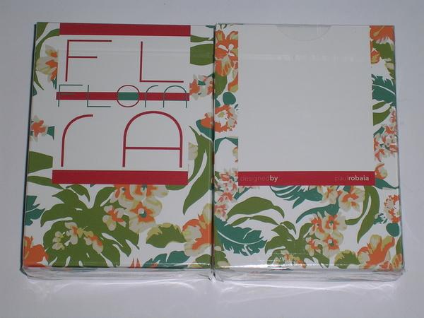 【USPCC 撲克】Flora PLAYING CARD