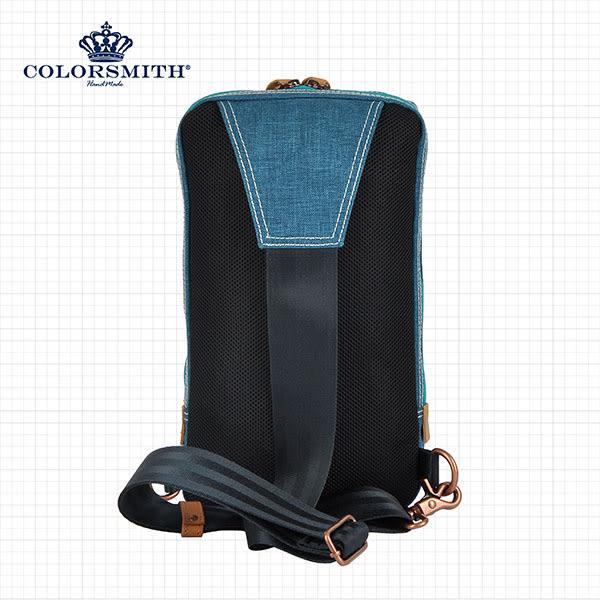 【COLORSMITH】UOC.雙層機能單肩後背包.UOC1352-BL