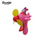 【日本正版】美樂蒂 飛機造型 按壓式 風扇 隨身扇 手壓風扇 My Melody 三麗鷗 Sanrio 545720-MM