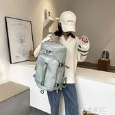 大容量手提旅行包干濕分離雙肩包女健身包兩用輕便旅行背包行李包 電購3C