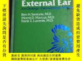 二手書博民逛書店英文書罕見diseases of the external ear 外耳疾病Y16354 詳情見圖片 詳情見圖