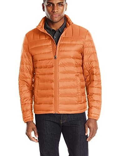 【BJ.GO】Dockers Men's Packable Pillow Down Jacket 可收藏頸枕河豚羽絨外套 現貨XL號